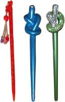 Sanjog Princess Combo of Multi Color Juda Sticks Bun Stick(Multicolor) - Price 450 77 % Off