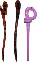 Kelley French Combo of Multi Color Juda Sticks Bun Stick(Multicolor) - Price 450 77 % Off
