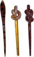 PiratesFashion Combo of Multi Color Juda Sticks Bun Stick(Multicolor) - Price 450 77 % Off
