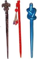 Disney Frozen Combo of Multi Color Juda Sticks Bun Stick(Multicolor) - Price 450 77 % Off
