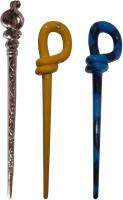 Ritzkart BOB Maker Combo of Multi Color Juda Sticks Bun Stick(Multicolor) - Price 450 77 % Off
