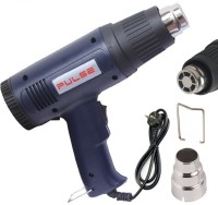 BalRama 50°C to 600°C High Quailty Professional 220V-50Hz AC 1000w/1500w Hot Air Heat Gun Blower Heavy Duty with Variable Temperature Control + Hanger Support + Adjustable Wattage + Extra Long Nozzle Hand Held Industrial Electric Gun Paint Varnish Stripper Shrink Wrapping Thermal Power Tool Air Blow