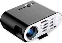 VIVIBRIGHT GP90UP Android & WIFI with HDMI/ USB/VGA Port 1080P 3200 lm LED Corded Mobiles Portable Projector(Black)