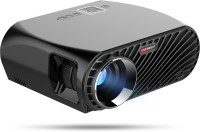 VIVIBRIGHT GP100UP Android & WIFI with HDMI/ USB/VGA Port 1080P 3500 lm LED Corded Mobiles Portable Projector(Black)