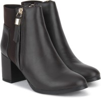 Chemistry Boots For Women(Brown)