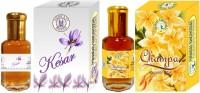 Purandas Ranchhoddas PRS Kesar & Champa 12ml Each Floral Attar(Floral)