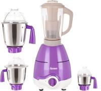 Sunmeet MG18 TA 169 ( 1 Large Jar, 1 Medium Jar and 1 Chuntey Jar) 800 Juicer Mixer Grinder(Purple, 4 Jars)