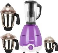 Sunmeet MG18 TA 137 ( 1 Large Jar, 1 Medium Jar and 1 Chuntey Jar) 600 Juicer Mixer Grinder(Purple, 4 Jars)