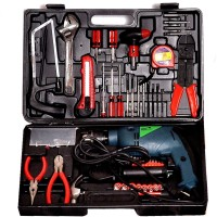 Camel 13Mm 850W Impact Drill Machine With Reversible Function + 105 Accessories Power & Hand Tool Kit(105 Tools)