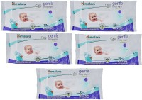 Himalaya Herbals Gentle Baby Wipes (72 Sheets) 5pcs(5 Pieces)