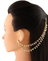 High Fashion 02 Hair Chain(Gold) - Price 260 85 % Off