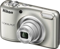 Nikon Coolpix A10 Point and Shoot Camera(Silver 20.2 MP)