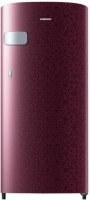 Samsung 192 L Direct Cool Single Door 2 Star Refrigerator(Ombre Red, RR19N1Y12MR-HL/RR19N2Y12MR-NL)