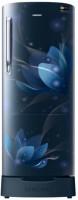 Samsung 192 L Direct Cool Single Door 4 Star Refrigerator(Blooming Saffron Blue, RR20N182YU8-HL/RR20N282YU8-NL)