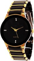 MAPA STYLE Attractive Stylish Gold Black Men Analog Watch Boys Analog Watch MPSTYLE 100 Watch  - For Men