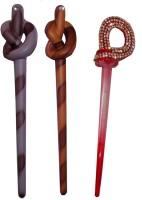 EASELIFE Premium Combo of Multi Color Juda Sticks Bun Stick(Multicolor) - Price 430 78 % Off