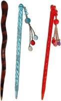 Must Visit Claw Combo of Multi Color Juda Sticks Bun Stick(Multicolor) - Price 430 78 % Off