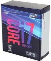 Intel 3.7 LGA 1151 8700k Processor(Grey)