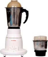 FLOWAY VITARA 400 Mixer Grinder(silver & white, 2 Jars)