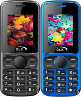 GLX W5 Combo of Two Mobiles(Blue & Black) - Price 1119 30 % Off