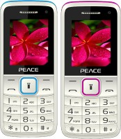 Peace Knight Combo of Two Mobiles(White $$ Blue & White $$ Pink)