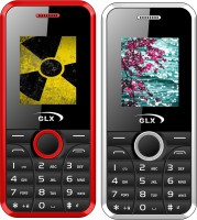 GLX W8 Combo of Two Mobiles(Red & White)