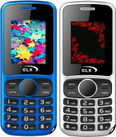 GLX W5 Combo of Two Mobiles(Blue & White)