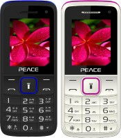 Peace Knight Combo of Two Mobiles(Black $$ Blue & White $$ Pink)