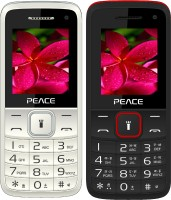 Peace Knight Combo of Two Mobiles(White $$ Grey & Black $$ Red)
