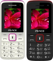 Peace Knight Combo of Two Mobiles(White $$ Pink & Black $$ Red) - Price 1069 23 % Off