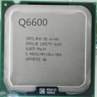Intel 2.66 GHz LGA 775 Q6600 Processor(Silver)