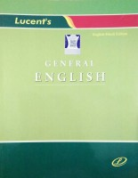 Lucent's General English(Paperback, Ajay Kumar Thakur)