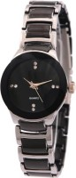 MAPA STYLE Attractive Stylish Silver Black Women Analog Watch Boys Analog Watch MPSTYLE 110 Watch  - For Women