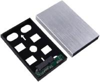 Etake Silver USB 3.0 Hard Drive Casing / Enclosure 2.5 External Hard Drive Enclosure(For 2.5 Inch Sata Hard Drive, Silver)