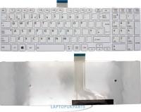 SellZone Replacement Keyboard For TOSHIBA SATELLITE C50 C55 L50 SERIES White Internal Laptop Keyboard(White)