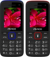 Peace Knight Combo of Two Mobiles(Black $$ Dark Blue & Black $$ Red)