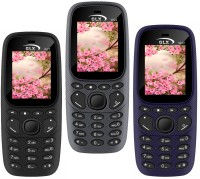 GLX W22 Pack of Three Mobiles(Blue, Black, Grey)