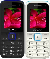 Peace Knight Combo of Two Mobiles(Black $$ Dark Blue & White $$ Blue)