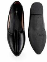 Stylotrendz Leather Waali Casuals For Men(Black)
