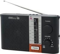 iBELL Portable FM Radio with USB\SD\MP3 Player & Dynamic Speaker FM Radio(Black)