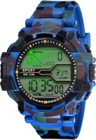 Lois Caron LCS-1006 DIGITAL SPORTS Watch  - For Men