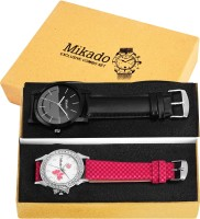Mikado Exclusive combo watches for couple Watch  - For Men & Women