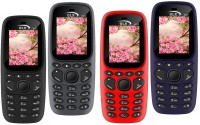 GLX W22 Pack of Four Mobiles(Grey, Black, Blue, Red) - Price 2199 31 % Off