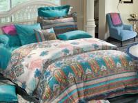 Stoa Paris Abstract Double Quilt(Cotton, Multicolor)