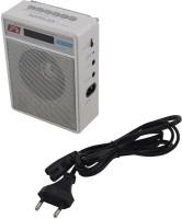Ae zone Portable FM Radio with USB\SD Player (White) FM Radio(White)