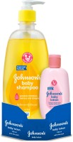 Johnson's Baby No More Tears Shampoo with Baby Lotion(475 ml)