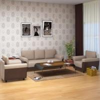 @home by Nilkamal Saviour Fabric 3 + 1 + 1 Sofa Set