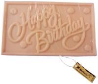 Moshiks HAPPY BIRTHDAY 200 GM WHITE CHOCOLATE BAR Bars(0.2 kg)