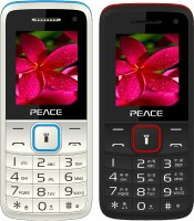 Peace Knight Combo of Two Mobiles(White $$ Blue & Black $$ Red) - Price 1199 14 % Off