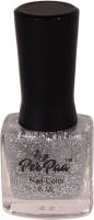 perpaa Top Coat Nail Enamel Silver Sparkle glitz(8 ml) - Price 147 30 % Off